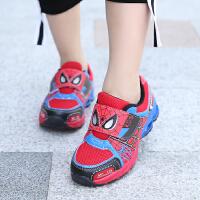 童鞋男童春秋儿童运动鞋韩版女童网面跑步鞋