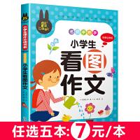 小学生看图作文 名师手把手 儿童彩图注音版 炫彩童书系列