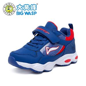 大黄蜂童鞋男童运动鞋男秋冬新款时尚韩版9岁学生革面运动鞋棉鞋