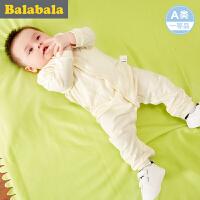 巴拉巴拉 新生儿婴童连体衣宝宝男童爬服2017夏新款婴儿儿童哈衣男