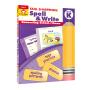 Evan-Moor Skill Sharpeners Spell & Write Grade K 幼儿园英语拼写练习册 美国加州教辅 技能铅笔刀系列 儿童英文原版图书