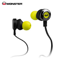 MONSTER/魔声 CLARITY HD灵晰入耳式面条魔声耳机 运动魔音耳机