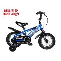 【当当自营】嘟嘟天使儿童自行车男女童车12寸/14寸/16寸男童单车3岁-6岁-9岁小孩自行车脚踏车发现号 14寸蓝高