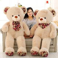 可爱大号抱抱熊毛绒玩具泰迪熊公仔熊猫女生布娃娃玩偶礼物送女友
