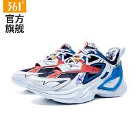 【超品预估价:244】高达SD DESTINY联名|龙骑361男鞋运动鞋361度休闲鞋
