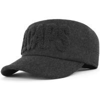 老人帽子中老年人男士帽子冬季加绒厚保暖冬护耳帽男帽冬天棉帽