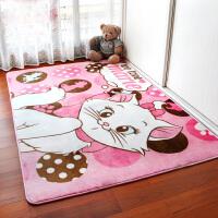 御目 地毯 卡通地垫卧室客厅卧室茶几床前床边榻榻米地垫儿童房间婴儿可爱家用防水防滑可机洗爬行垫家居