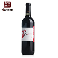 智利格狮马赤霞珠干红葡萄酒750ml 张裕先锋原瓶进口 排油丸缩小版预制墙引