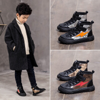 男童二棉鞋童秋冬季儿童鞋子女童加绒