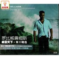 正版音乐 罗比威廉姆斯:威震天下・双 (2CD)【光碟专辑CD唱片】