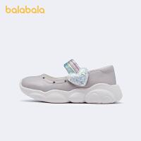 【2件7.5折:119.9】巴拉巴拉童鞋女童单鞋儿童皮鞋平底鞋幼童公主鞋精致2021新款童鞋