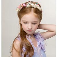 新款时尚新品儿童公主冠头饰 女童发箍皇冠配饰儿童礼服配饰