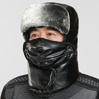 中老年帽子男冬季保暖东北护耳老头帽爸爸爷爷冬天老人雷锋帽