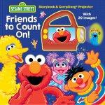 英文原版 芝麻街:靠得住的朋友 图画故事书+放映机 Sesame Street: Friends to Count O