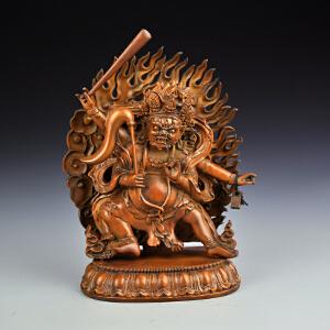 黄杨木藏传佛像