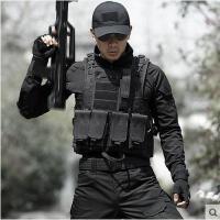 军迷户外作战马甲防刺服防弹衣特种兵迷彩战术背心男 CS装备