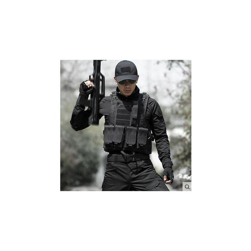 军迷户外作战马甲防刺服防弹衣特种兵迷彩战术背心男 CS装备 品质保证 售后无忧  支持货到付款