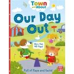 【中商原版】郊游 英文原版 Our Day Out (Town and About) 纸板书 翻翻书 认知识物绘本 3