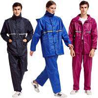 雨衣成人雨衣电瓶车摩托车雨衣骑行成人徒步雨衣雨裤套装男女防水