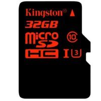 Kingston金士顿32G UHS-I C10 TF卡高速存储卡 读速90M/S中国红