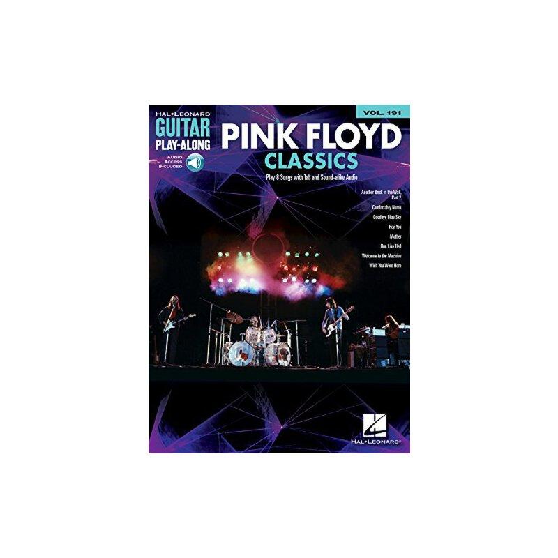 【预订】Pink Floyd Classics: Guitar Play-Along Volume 191 [With Onl... 9781495022661 美国库房发货,通常付款后3-5周到货!