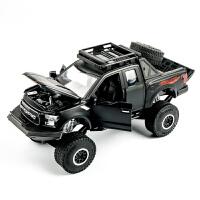 儿童玩具越野车滑行回力大脚车 合金避震皮卡车汽车模型玩具车