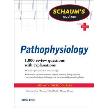 英文原版 病理生理学大纲  Schaum's Outline of Pathophysiology