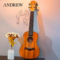 安德�相思木23寸26寸尤克里里ukulele�蹩他��� 夏威夷四弦小吉他
