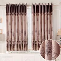 窗帘成品遮光短帘飘窗客厅卧室阳台布料加厚简约现代