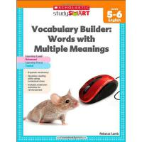 Scholastic Study Smart: Vocabulary Builder: Words with Mult