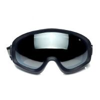 防风镜骑行镜防护眼镜摩托车风镜抗冲击可戴近视大视野两幅片