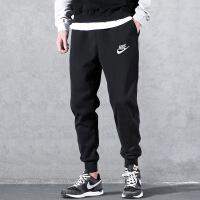 幸运叶子 Nike/耐克男裤春季宽松舒适针织透气休闲裤收口小脚裤跑步运动长裤BV2763-010