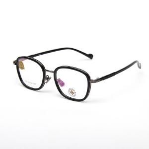 明治/KHDESIGN   个性超轻复古近视眼镜框架 男女潮款椭圆形小脸镜架KS1707