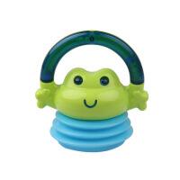 手摇铃玩具婴儿童0-1岁宝宝手抓可咬软胶男孩女孩3-6-12个月