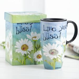 EVERGREEN爱屋格林创意马克杯大容量水杯子陶瓷杯礼盒装咖啡杯