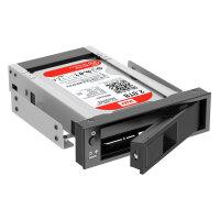 奥睿科ORICO 1106SS 台式机光驱位3.5英寸SATA硬盘抽取架 串口硬盘架抽拉盒