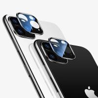 【好货优选】卡斐乐适用iphone11手机镜头钢化膜后摄像头保护膜高清防刮2片装 黑色高清(2只装) 苹果11 Pro