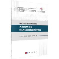 基于多阶段复合实物期权的火力发电企业IGCC项目投资决策研究