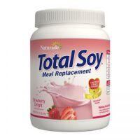 保税区直发 美国Naturade Total Soy营养代餐粉奶昔 草莓味 540g 减肥 瘦身