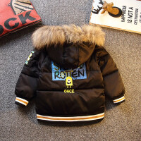 男童棉袄童装冬装儿童男孩小童宝宝冬季外套