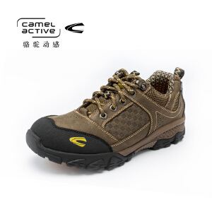 骆驼动感(camel active)男鞋运动防滑越野徒步鞋耐磨透气爬山登山鞋