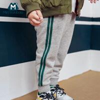 迷你巴拉巴拉男童运动裤2018秋季新款童装宝宝裤子儿童休闲长裤