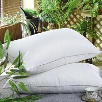 枕头枕芯 成人单人学生枕单只枕心羽丝绒护颈椎舒适柔软