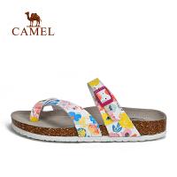 camel骆驼户外女款凉拖 夏季防滑舒适时尚沙滩拖鞋女士