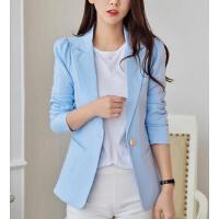 小西装女 外套 新款韩版修身大码时尚修身显瘦长袖小西装外套女士休闲