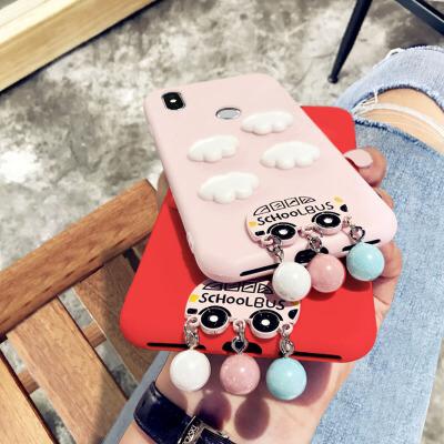 honor荣耀7x手机壳7c保护套可爱卡通粉色畅玩6x外壳少女心4x硅胶个性创意5x全包防摔超薄磨砂