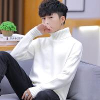 №【2019新款】小伙子穿的高领毛衣男韩版2018新款潮修身毛线衣男士打底针织衫