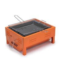 便携式烤炉 野外小号烧烤架 木炭烤箱 烧烤煎烤两用炉