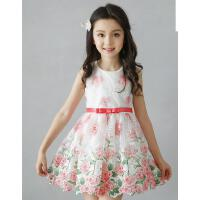 新款中大童儿童韩版童装女童连衣裙夏背心公主裙子 可礼品卡支付