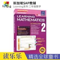 【预售30天发货】SAP Learning Mathematics 2 新加坡数学教辅 小学二年级练习册 学习系列正版